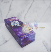 Galaxy Rose with Love Base Stand ⭐ Best - Selling ⭐