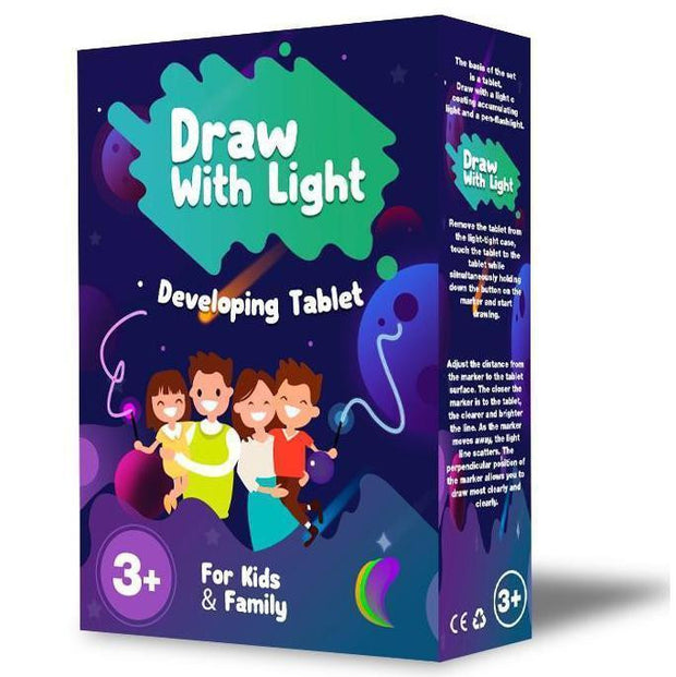 Draw & Develop With Light-Fun And Developing Toy ⭐ Best-Selling⭐