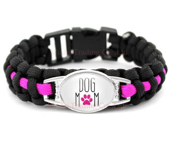 DOG MOM PARACORD BRACELETS