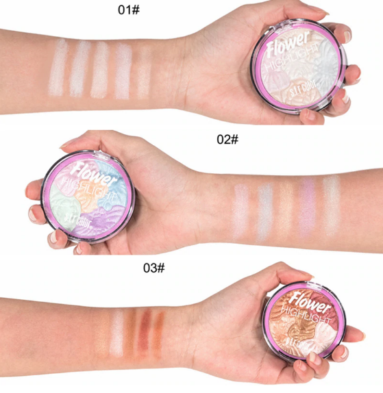 3D Baked Highlighter