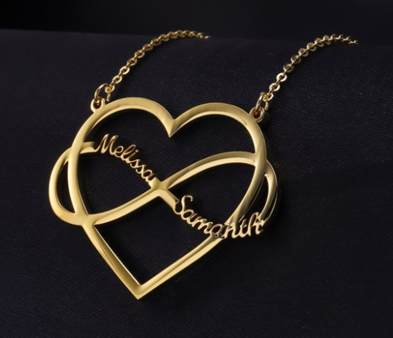 Heart Infinite Necklaces