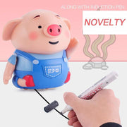 Educational Creative Pen Inductive Toy Pig Set