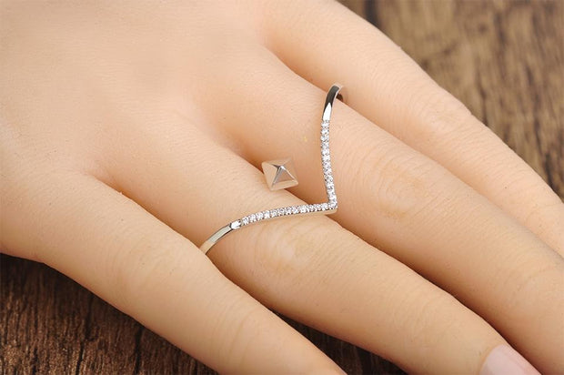 Love Square Ring