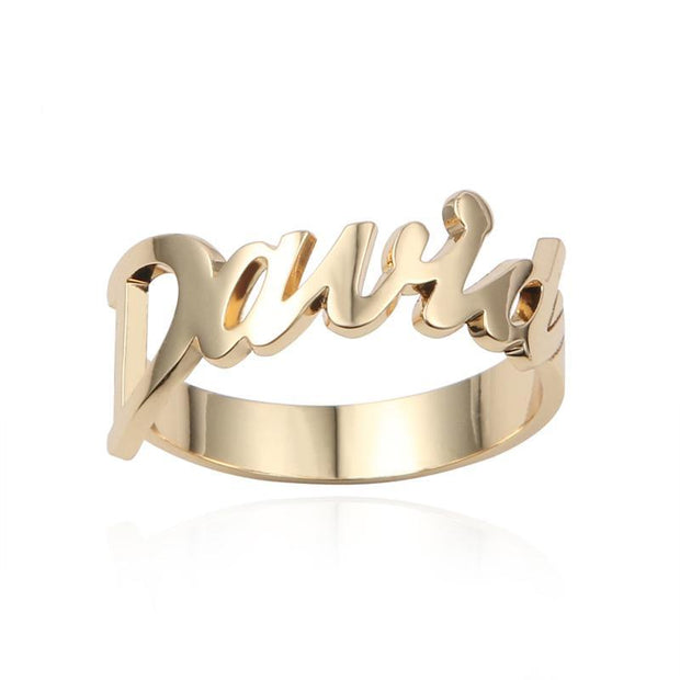 Engrave Your Name Ring