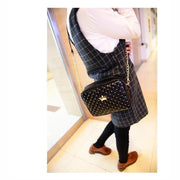 Women Messenger Rivet Chain Shoulder Bag