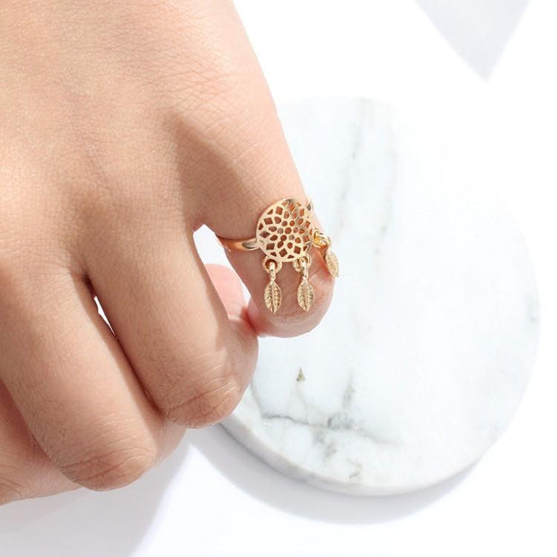 Bohemian fashion ring