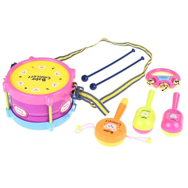 Musical Drum Instruments Band Kit