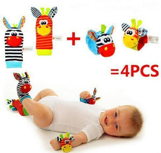 Baby  Wrist Rattle and Foot Socks