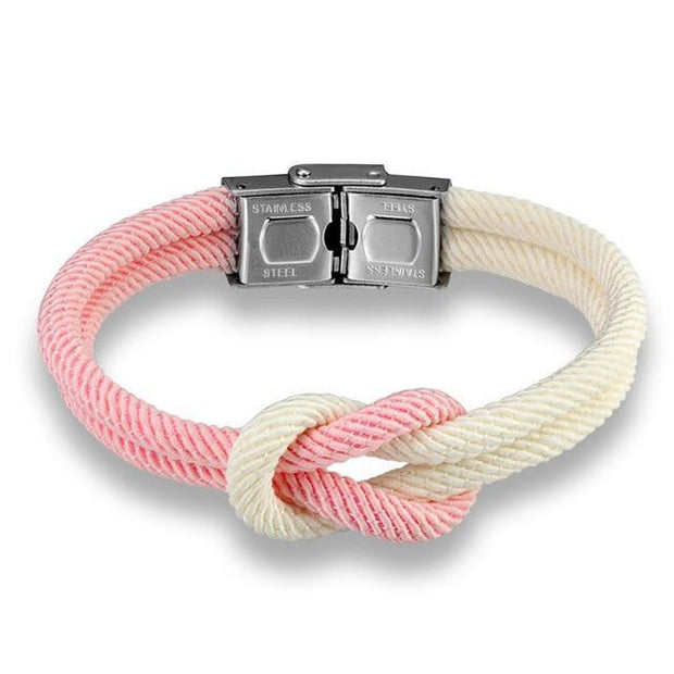 Macaron color Leather Stainless Steel Buckle