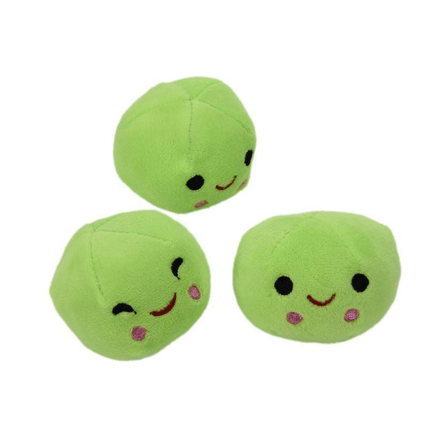Pea-shaped Pillow Toy
