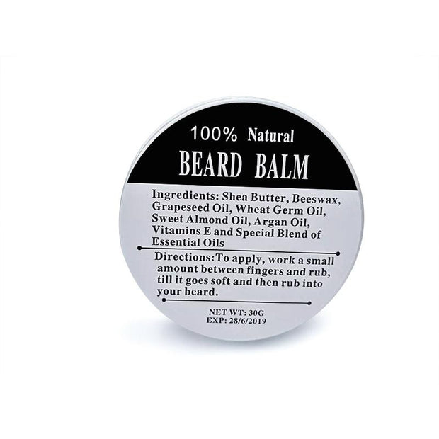 Natural Men Beard Hair Wax Balm