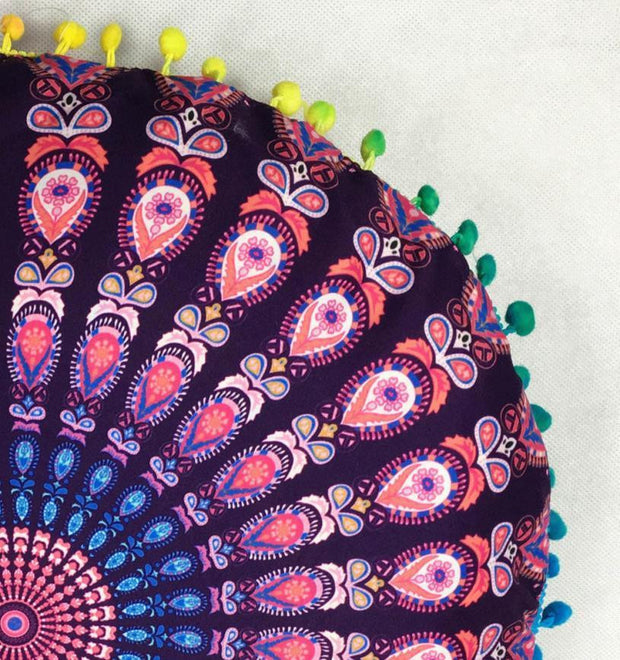 Bohemian Inspired Pillow Cover