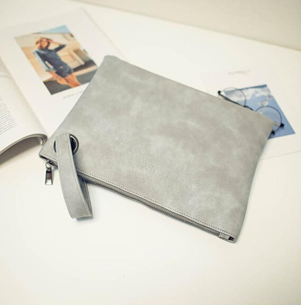 Fashion Solid Women's Clutch Bag