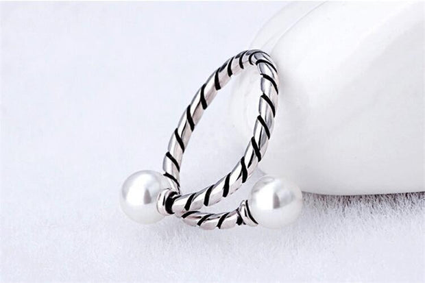Punk Biker Cocktail Ring