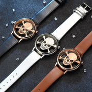 Unique Skull Analog Hollow Style WristWatch