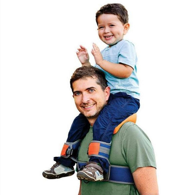 Hands-Free Shoulder Carrier with Ankle Straps