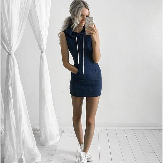 Evening Party Casual Sleeveless Dress