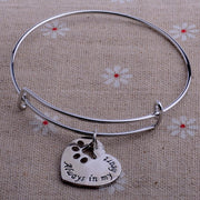 Always In My Heart Paws Bracelets