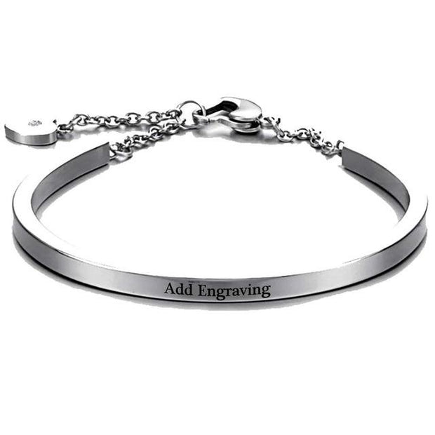 Personalized Engrave Name Bracelet