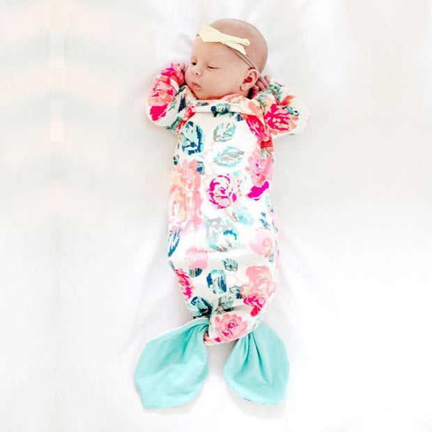 BABY MERMAID GOWN