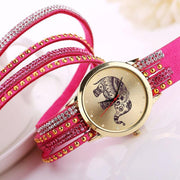 Mandala Elephant Watch - Bracelet