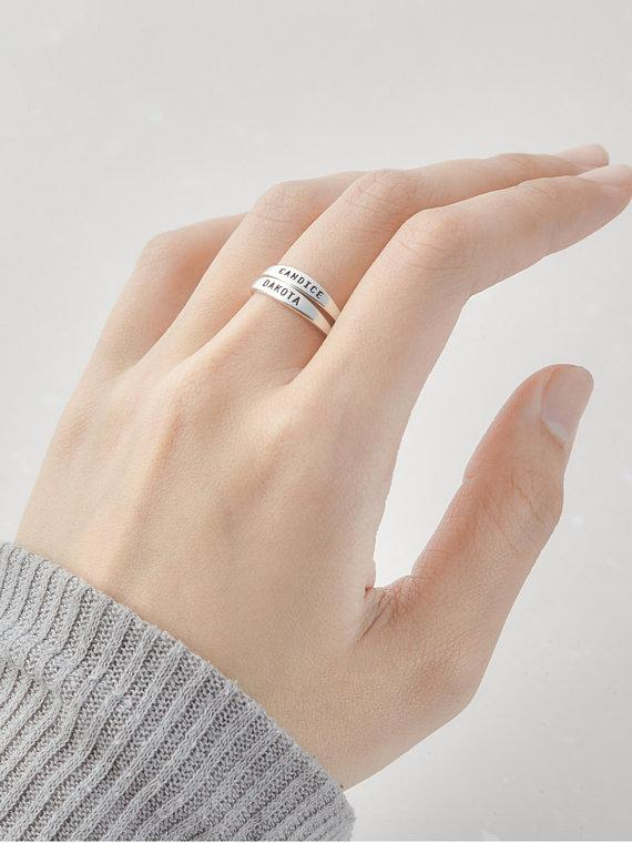 Delicate Personalized Ring