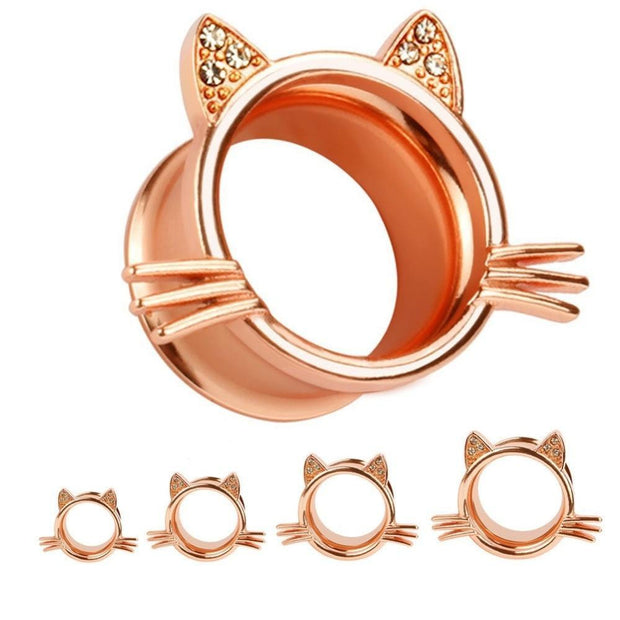 Real Teeth Grillz Navel Piercing For Cat Earrings
