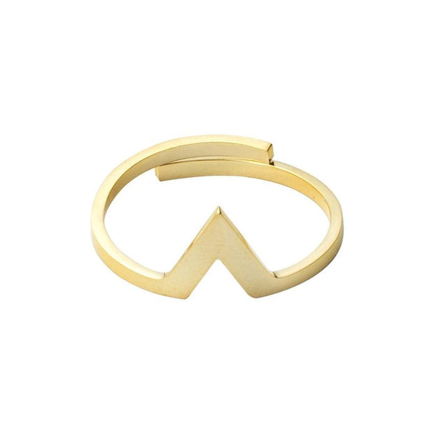 V Stacking Triangle Rings