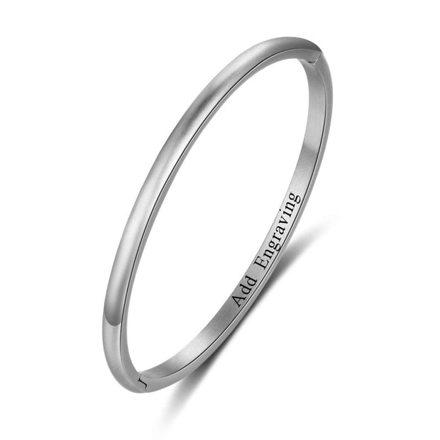Inside Engraved Name Bracelet