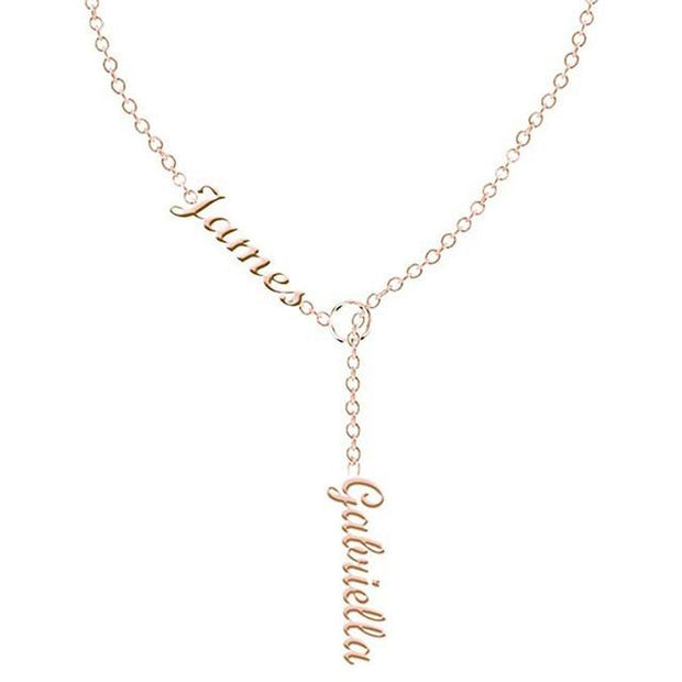 Double Names Necklace