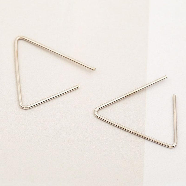 Open Stud Earrings
