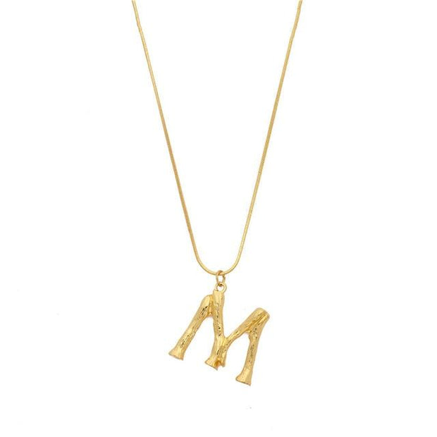 Initial Letters Necklace