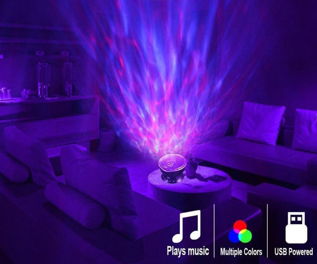 Ocean Wave Projector LED Night