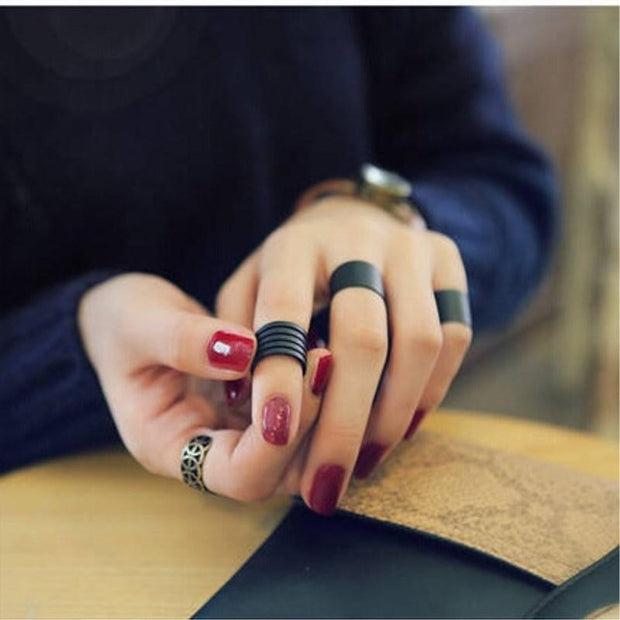 Knuckle Rings Set