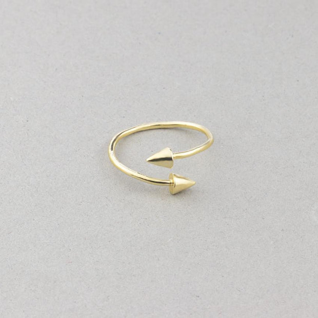 Arrow Knuckle Ring
