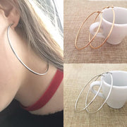 Exaggerated Hoop Earrings