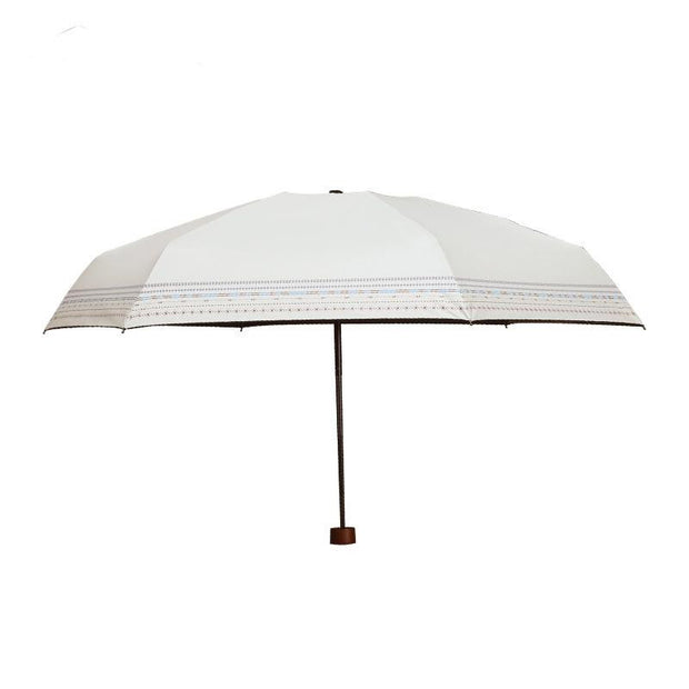 Bohemian style Woman Sun-Rain Umbrella