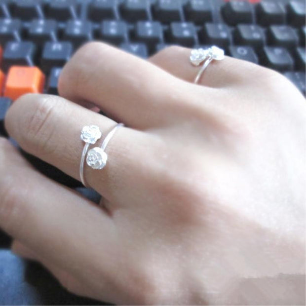 Rose Resizable Rings