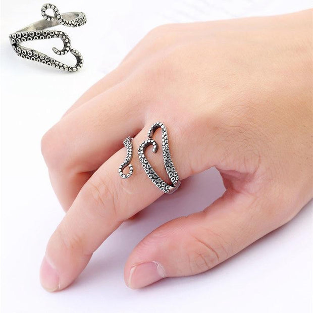 Octopus Devilfish Ring