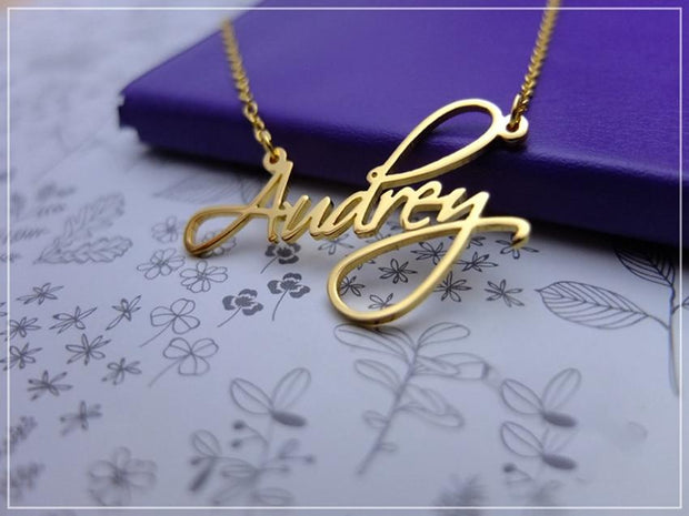 Cursive Name Necklace