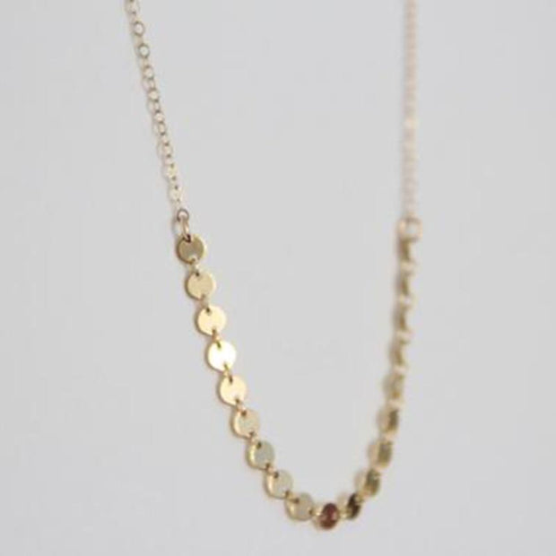 Coins Necklace  Choker