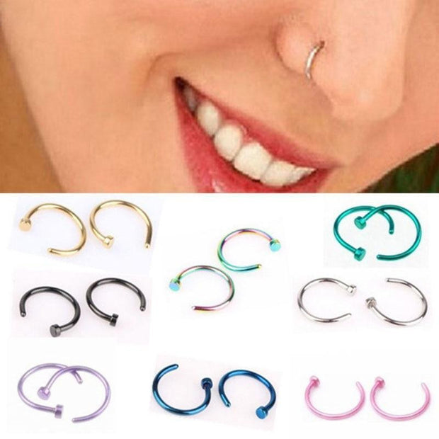 Titanium Nose Ring
