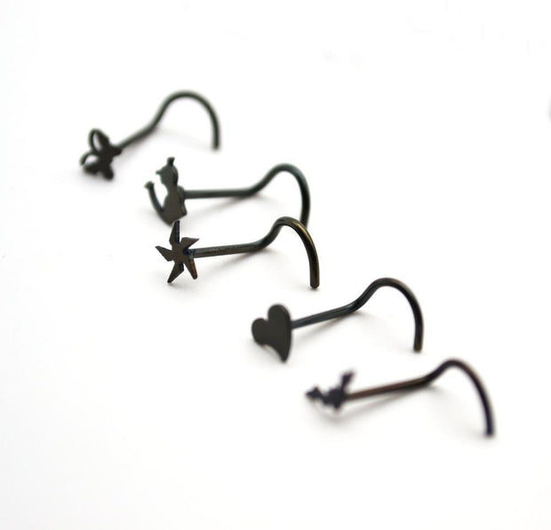 Cute Logos Hook Bone Bar Pin
