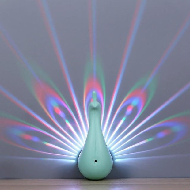 Peacock Wall Lamp Smart Touch