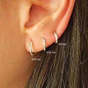 Ear Bone Hoop Earrings