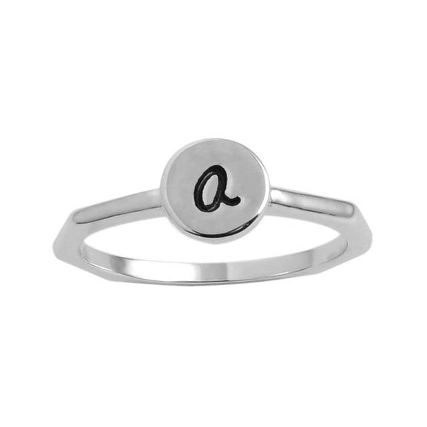 Personalized Antique Stackable Rings Sets