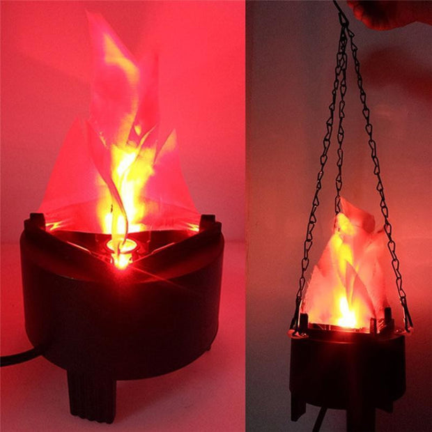 Hanging Flame Light Simulation
