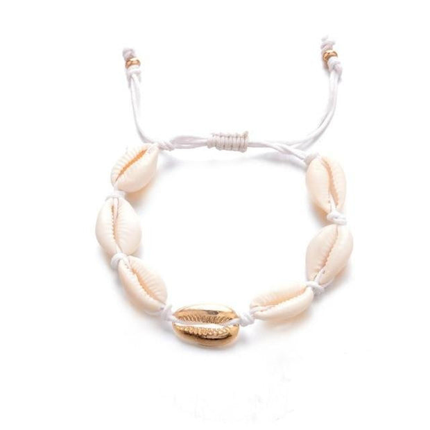 Bohemian Natural Sea Shell Conch Anklets For Women Ankle Bracelet on Leg Chain Silver Shell Gold Boho Anklet Beach Foot Jewelry