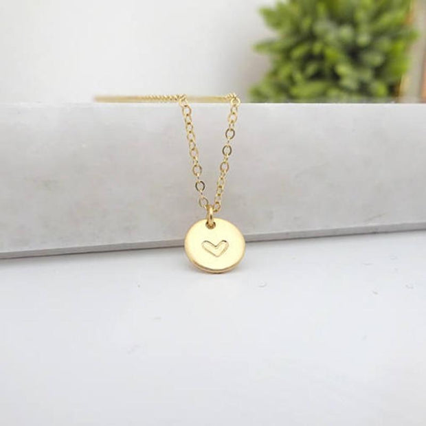 Name Coins Necklace
