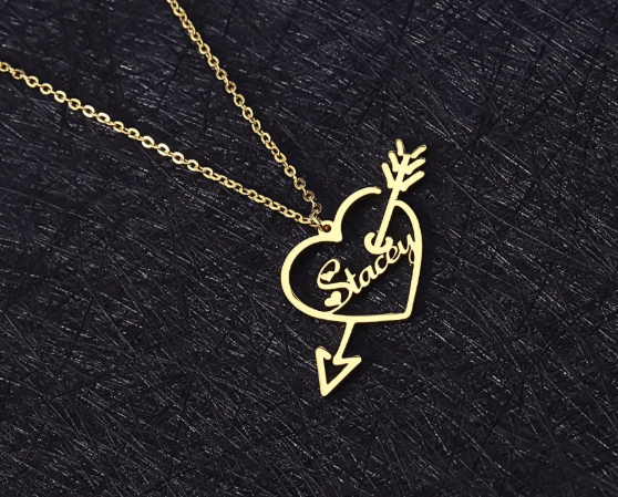 Arrow Heart Necklaces
